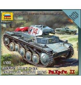Zvezda ZVE6102 1/100 German Panzer II
