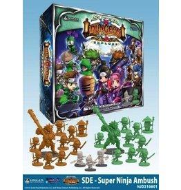 Soda Pop Miniatures Super Dungeon Explore: Super Ninja Ambush! Deluxe Warband