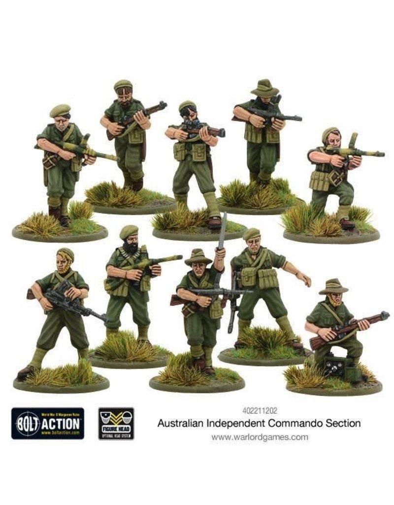 Bolt Action BA British Army: Australian Independent Commando Squad