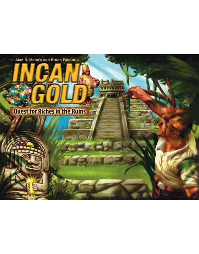 Board Games Gryphon Bookshelf Games #6: Incan Gold - Quest for Riches in the Ruins