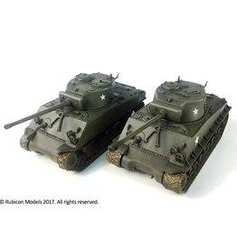 Rubicon Models DIRECT 28mm Rubicon Models: M4A3 / M4A3E8 Sherman