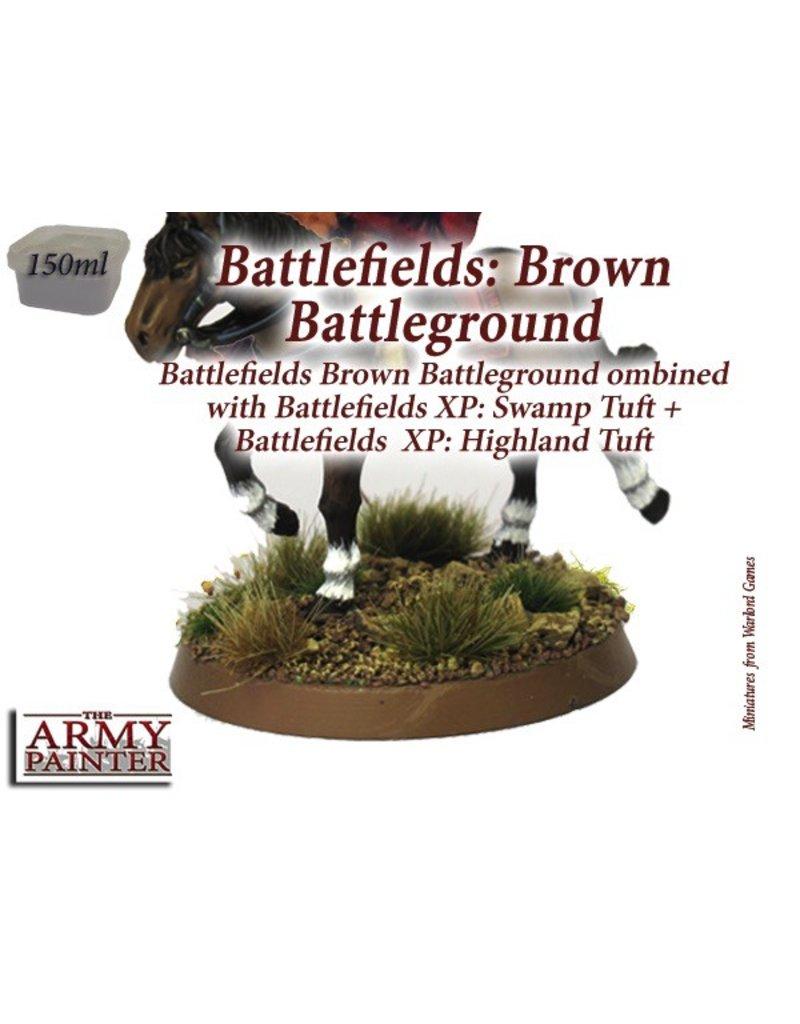 Army Painter BF4102 Army Painter Battlefield Basing Brown Battleground
