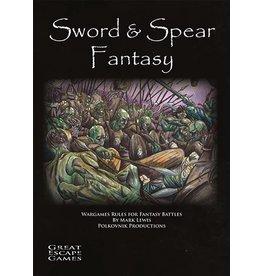 Great Escape Games DIRECT Sword & Spear Fantasy Rulebook