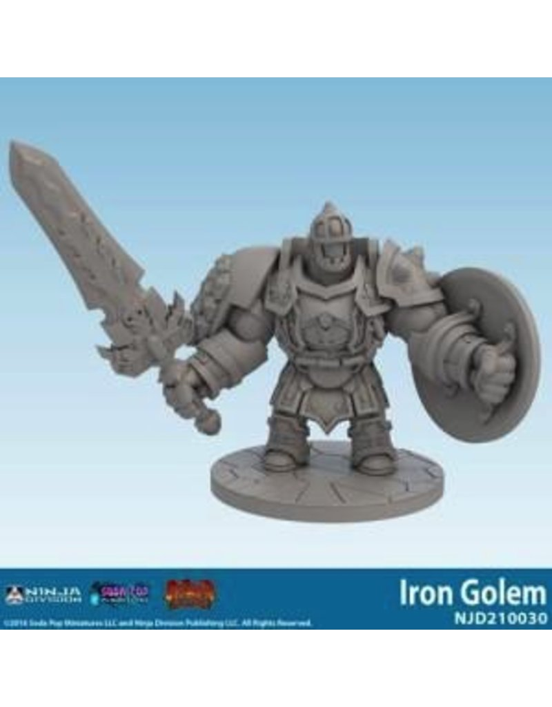 Soda Pop Miniatures Super Dungeon Explore: Iron Golem Expansion