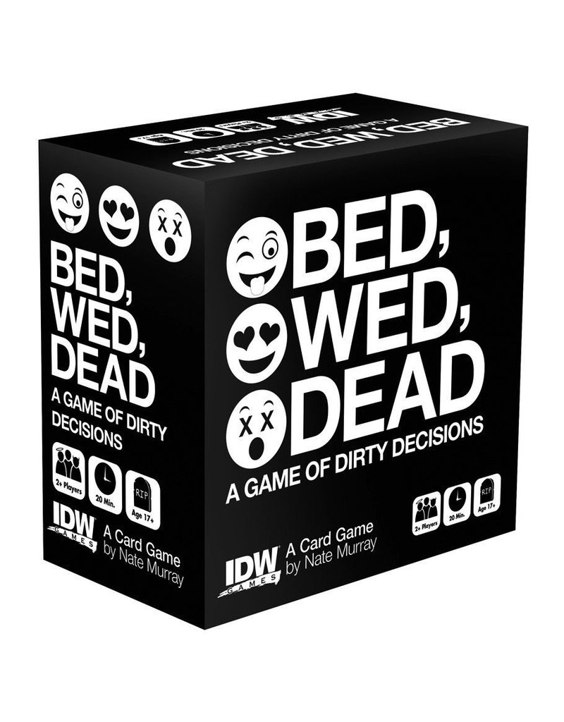 IDW Games Bed, Wed, Dead: Game of Dirty Decisions
