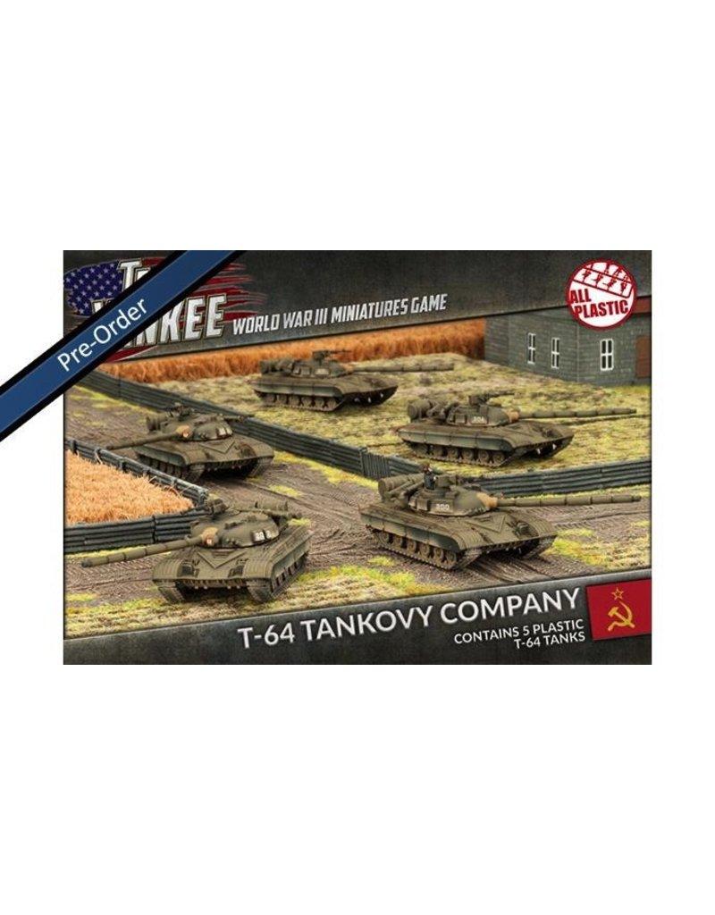 Team Yankee TSBX13 T-64 Tankovy Company (Plastic)