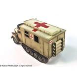 Rubicon Models DIRECT 28mm Rubicon Models: SdKfz 305/3a Expansion Set - Box Body (Einheitskoffer)