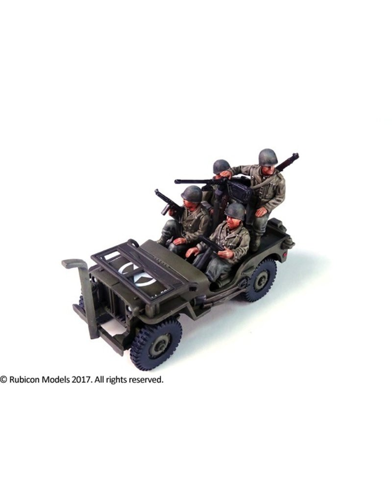 Rubicon Models DIRECT 28mm Rubicon Models: Willys MB 1/4 ton 4x4 Truck (US Standard)