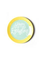 Coton Colors Happy Everything Color Block 6 Dessert Plate Mint
