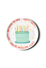 "Coton Colors Happy Birthday Boy 10"" Melamine Dinner Plate"