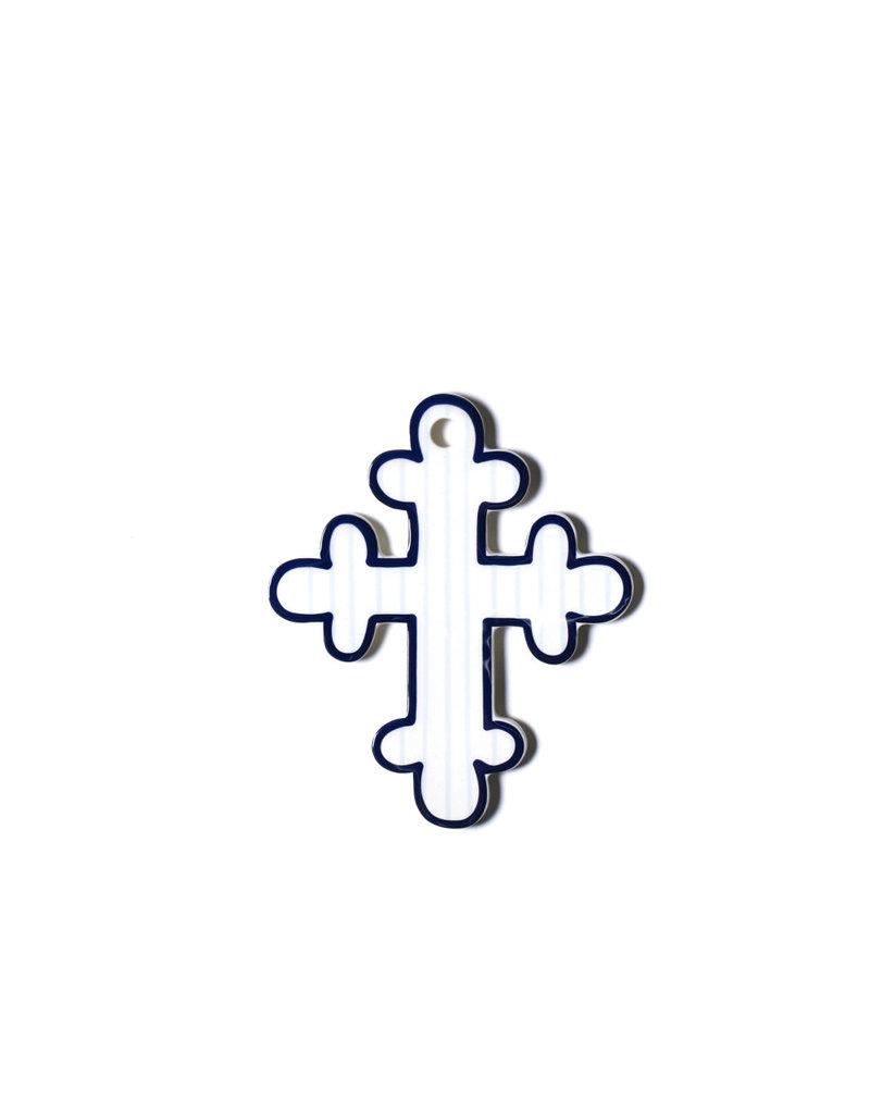 Coton Colors Pinstripe 6 Cross Blue