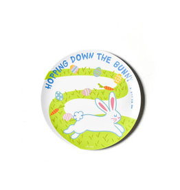 "Coton Colors Easter Bunny Trail 10"" Melamine Dinner Plate"