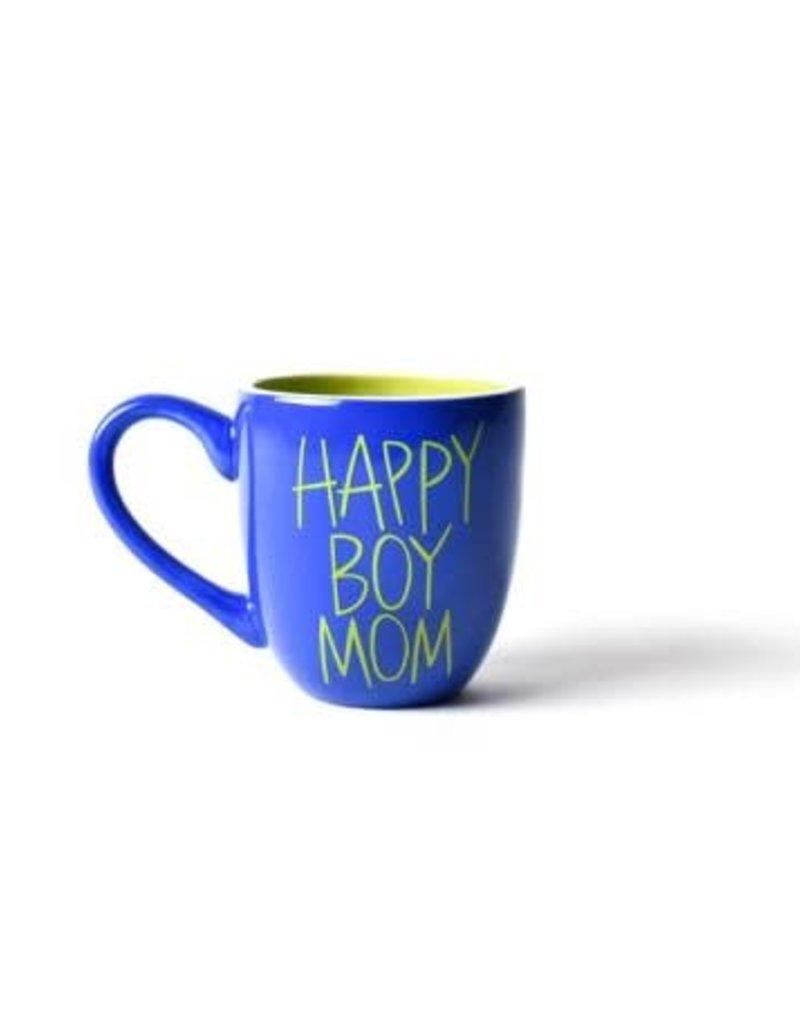 Coton Colors Happy Boy Mom 4.25 Mug Cobalt