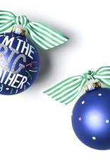 Coton Colors Big Brother Popper 100MM Glass Ornament