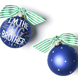 Coton Colors Big Brother Popper 100MM Glass Ornament