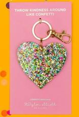 Taylor Elliott Designs Confetti Keychain