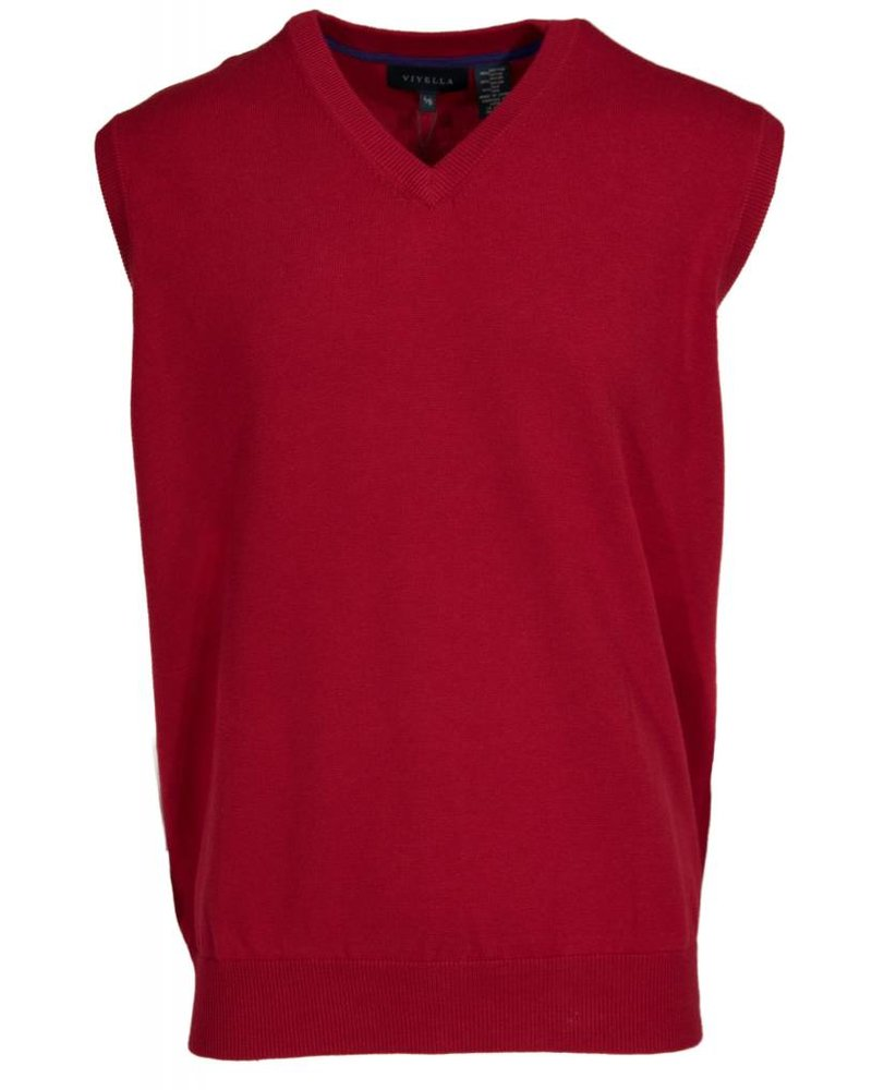 Viyella Guards Red Sweater Vest