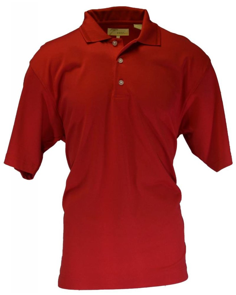 Ease Red Men's Large Polo