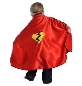 Great Pretenders Great Pretenders Adventure Cape and Mask, Red