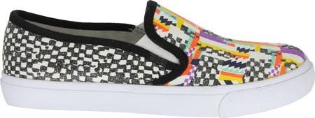 Nina Nina Slip-On Sneaker Evetta Multi Cotton Canvas