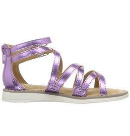 Hanna Andersson Vera Gladiator Sandal - Purple