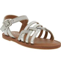 Nina Nina Clari Silver Metallic Sandals
