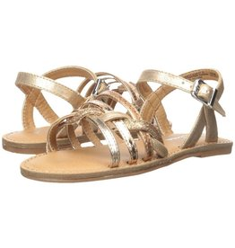 Nina Nina Clari Rose Gold Metallic Sandals