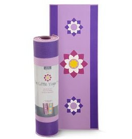 The Little Yoga Mat The Little Yoga Mat - Lotus
