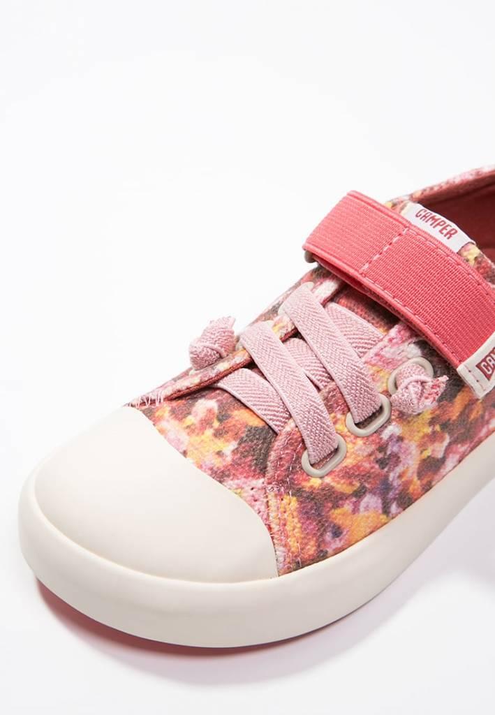Camper Camper for Kids Peu Rambla Vulcan - Pink Flowers