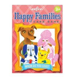 Eeboo Eeboo Happy Families Card Game