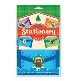 Eeboo eeBoo Camp Out Fold-to-Mail Stationery