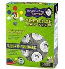 Crazy Aaron Crazy Aaron Thinking Putty Mixed by Me Kit Glow in the Dark