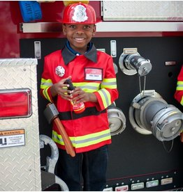 Great Pretenders Firefighter's Costume with Accessories (Size 5/6)