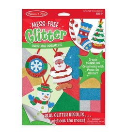 Melissa & Doug Christmas Ornaments Mess-Free Glitter