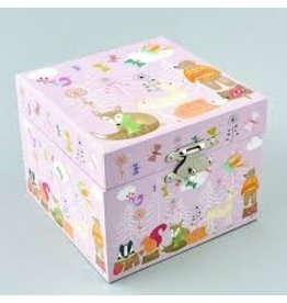 Floss & Rock Woodland Animal Jewelry Box
