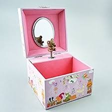 Floss & Rock Woodland Animal Jewelry Box