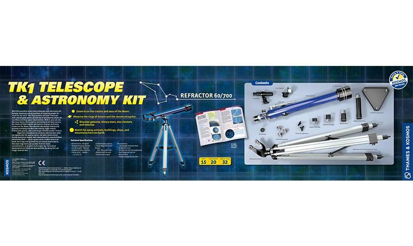 Thames and Kosmos TK1 Telescope & Astronomy Kit