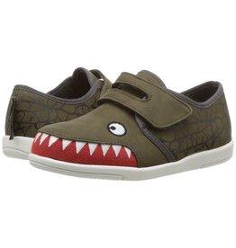 Emu Emu Crocodile Skate Sneaker - Khaki