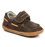 """Pediped Pediped Grip """"n"""" Go Norm Brown Boat Shoe"""