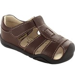 Pediped Pediped Sydney Brown Toddler Sandal