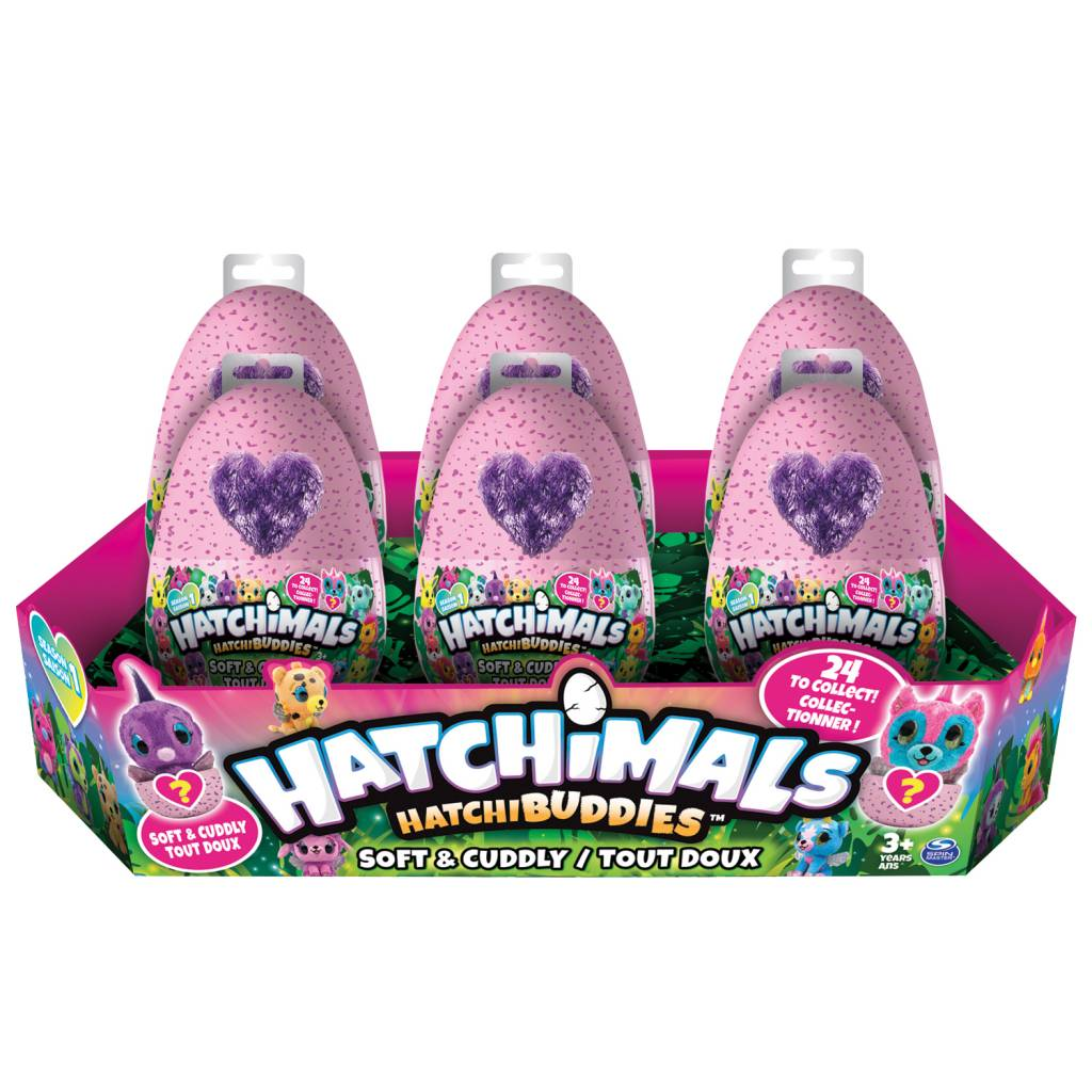 Toysmith Hatchimals Hatchibuddies Plush