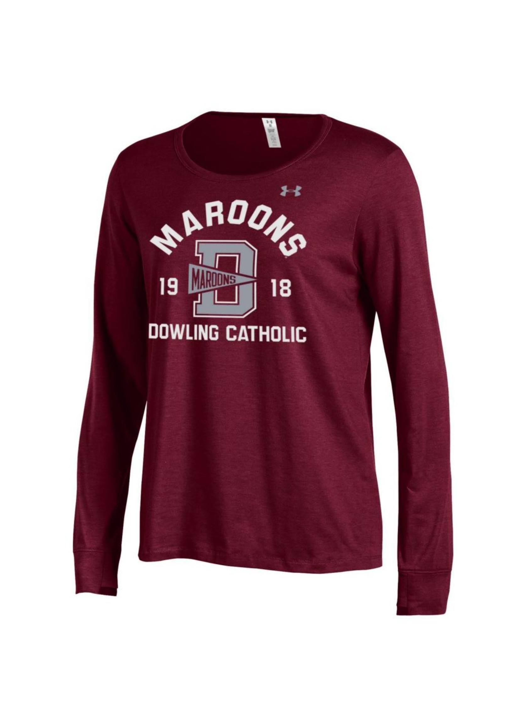 Under Armour Under Armour Women's Charged Cotton Long Sleeve Tee