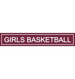 Spirit Signs Spirit Sign Girls Basketball Rider