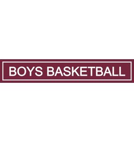 Spirit Signs Spirit Sign Boys Basketball Rider
