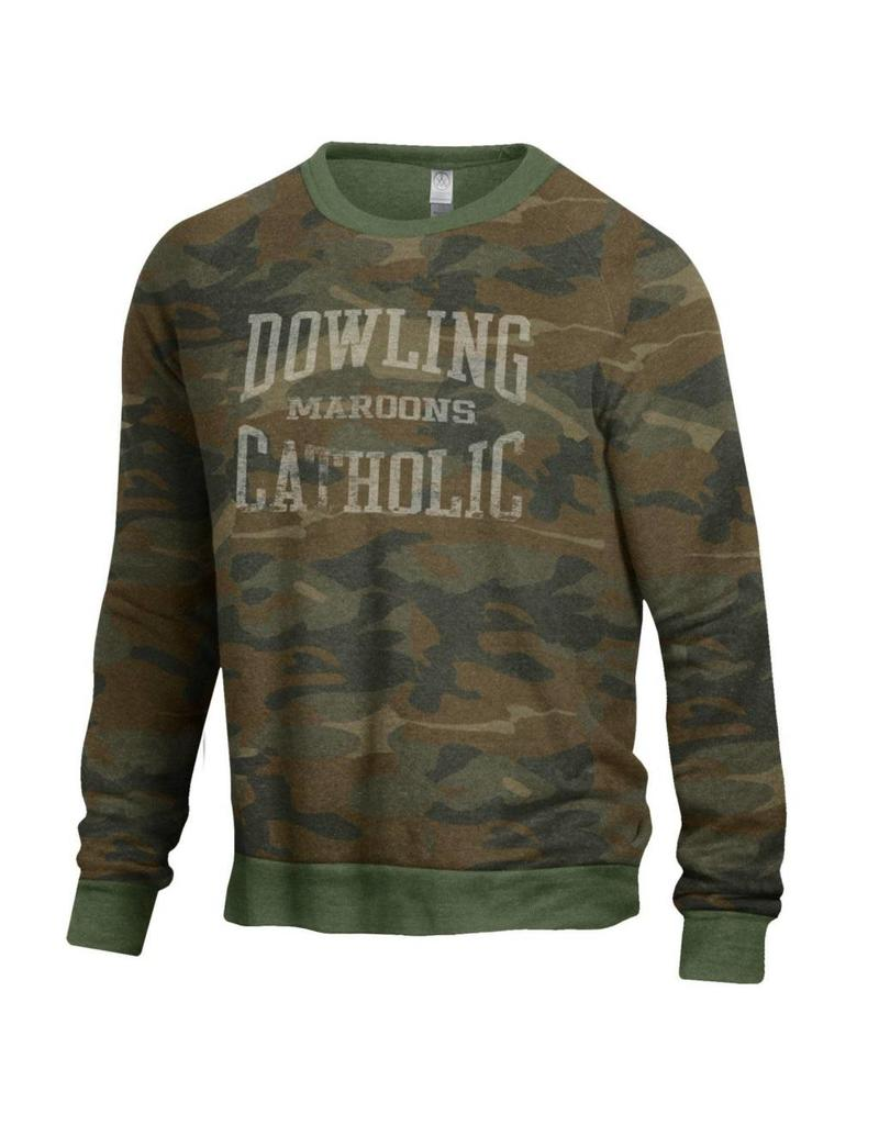 3dbb14c712cf Alternative Apparel The Champ Sweatshirt - Dowling Catholic Campus Store