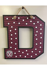 Spirit Signs Maroon Spirit Decor Sign