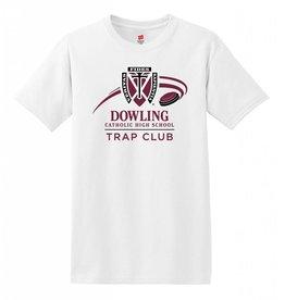 Hane's Trap Club White Hanes Tee - S/S