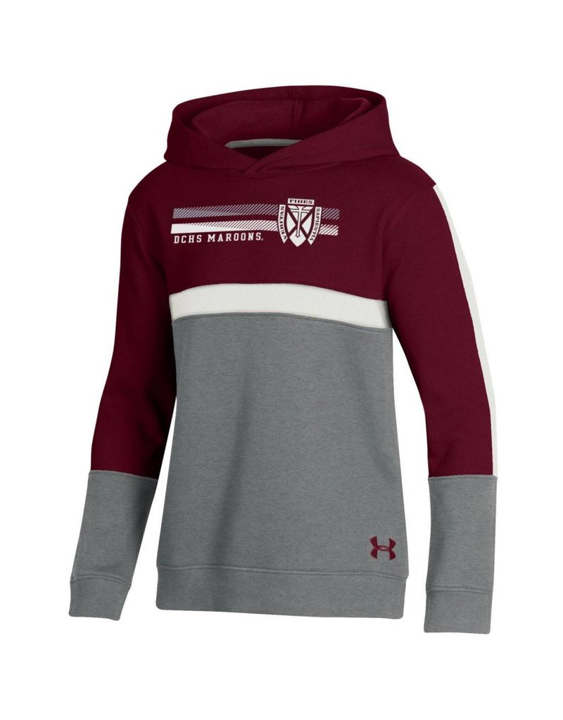 Under Armour Under Armour Youth OT Pique Blocked Hood