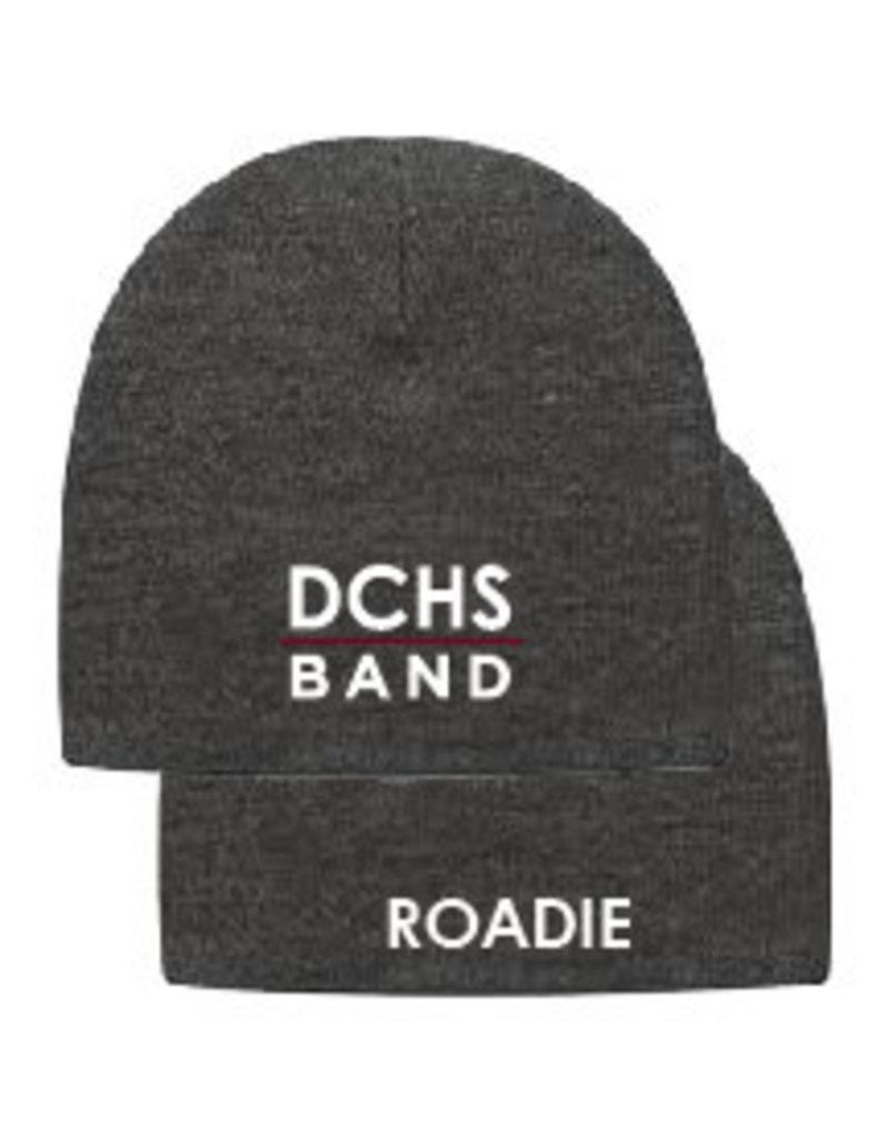 Band Knit Beanie Cap