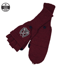 Logo Fit LogoFit Flip-Top Knit Mittens